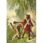 Puzzle  Grafika-Kids-00143 XXL Pieces - Robinson Crusoe by Offterdinger & Zweigle