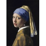 Puzzle  Grafika-Kids-00150 Vermeer Johannes: The Girl with a Pearl Earring, 1665