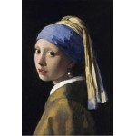 Puzzle  Grafika-Kids-00151 Vermeer Johannes: The Girl with a Pearl Earring, 1665