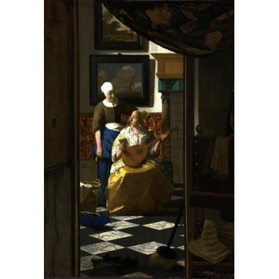 Puzzle Grafika-Kids-00155 XXL Pieces - Vermeer Johannes: The Loveletter, 1669-1670