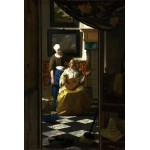 Puzzle  Grafika-Kids-00157 Vermeer Johannes: The Loveletter, 1669-1670
