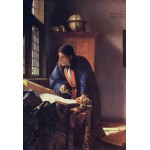 Puzzle  Grafika-Kids-00161 XXL Pieces - Vermeer Johannes: The Geographer, 1668-1669