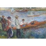 Puzzle  Grafika-Kids-00179 XXL Pieces - Renoir Auguste: Canoteurs à Chatou, 1879