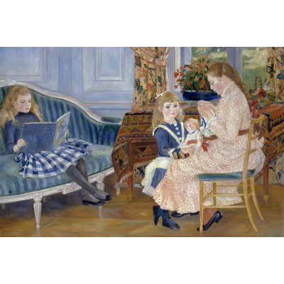 Puzzle Grafika-Kids-00184 Auguste Renoir : Children's Afternoon at Wargemont, 1884