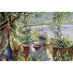Puzzle  Grafika-Kids-00185 XXL Pieces - Renoir Auguste: Near the Lake, 1879