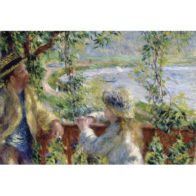 Puzzle Grafika-Kids-00185 XXL Pieces - Renoir Auguste: Near the Lake, 1879