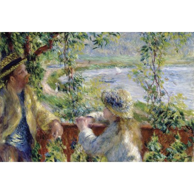 Puzzle Grafika-Kids-00187 Renoir Auguste: Near the Lake, 1879