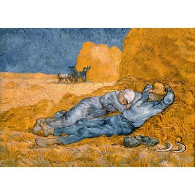 Puzzle Grafika-Kids-00198 Magnetic Pieces - Van Gogh Vincent: La Sieste (d'après Millet), 1890