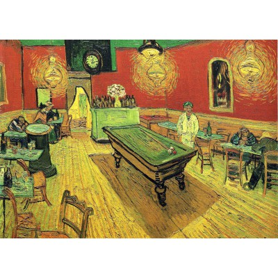 Puzzle Grafika-Kids-00206 Magnetic Pieces - Vincent van Gogh: The Night Cafe, 1888
