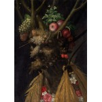 Puzzle  Grafika-Kids-00214 Magnetic Pieces - Arcimboldo Giuseppe: Four Seasons in One Head, 1590