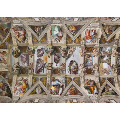 Puzzle Grafika-Kids-00224 Magnetic Pieces - Michelangelo: Sistine Chapel