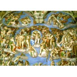 Puzzle  Grafika-Kids-00225 Magnetic Pieces - Michelangelo : Judgement Day