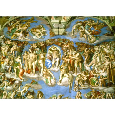 Puzzle Grafika-Kids-00225 Magnetic Pieces - Michelangelo : Judgement Day