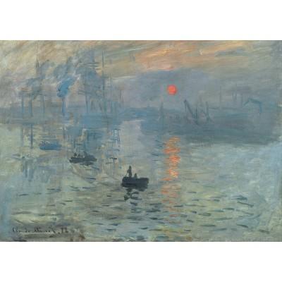 Puzzle Grafika-Kids-00228 Magnetic Pieces - Claude Monet: Impression au Soleil Levant, 1872