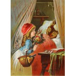 Puzzle  Grafika-Kids-00239 Magnetic Pieces - Little Red Riding Hood, illustration by Carl Offterdinger