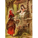 Puzzle  Grafika-Kids-00243 Magnetic Pieces - Snow White, illustration by Carl Offterdinger