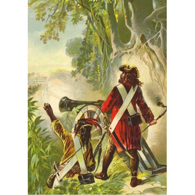 Puzzle Grafika-Kids-00247 Magnetic Pieces - Robinson Crusoe by Offterdinger & Zweigle