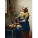 Puzzle  Grafika-Kids-00250 Magnetic Pieces - Vermeer Johannes: The Milkmaid, 1658-1661