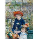 Puzzle  Grafika-Kids-00254 Magnetic Pieces - Auguste Renoir: The Two Sisters, On the Terrace, 1881