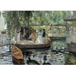 Puzzle  Grafika-Kids-00258 Magnetic Pieces - Auguste Renoir: La Grenouillère, 1869