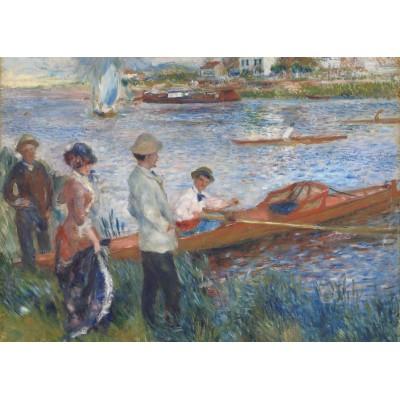 Puzzle Grafika-Kids-00259 Magnetic Pieces - Renoir Auguste: Canoteurs à Chatou, 1879