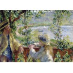 Puzzle  Grafika-Kids-00261 Magnetic Pieces - Renoir Auguste: Near the Lake, 1879