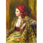 Puzzle  Grafika-Kids-00262 Magnetic Pieces - Renoir Auguste: Odalisque, 1895