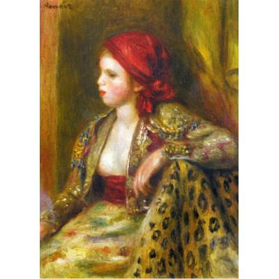 Puzzle Grafika-Kids-00263 Magnetic Pieces - Renoir Auguste: Odalisque, 1895