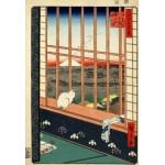 Puzzle  Grafika-Kids-00265 XXL Pieces - Utagawa Hiroshige : Asakusa Ricefields and Torinomachi Festival