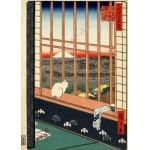 Puzzle  Grafika-Kids-00266 Utagawa Hiroshige : Asakusa Ricefields and Torinomachi Festival