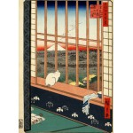 Puzzle  Grafika-Kids-00267 Magnetic Pieces - Utagawa Hiroshige