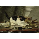 Puzzle  Grafika-Kids-00276 XXL Pieces - Henriette Ronner-Knip : Kitten's Game