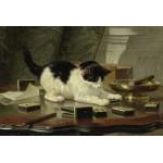 Puzzle  Grafika-Kids-00282 Henriette Ronner-Knip : Kitten's Game