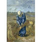 Puzzle  Grafika-Kids-00299 Vincent van Gogh - Peasant woman binding sheaves (after Millet)