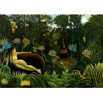 Puzzle  Grafika-Kids-00304 Magnetic Pieces - Henri Rousseau: The Dream, 1910