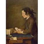 Puzzle  Grafika-Kids-00309 Jean Siméon Chardin - The House of Cards, 1737