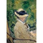 Puzzle  Grafika-Kids-00314 Edouard Manet - Madame Manet at Bellevue, 1880