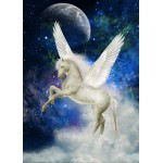 Puzzle  Grafika-Kids-00327 Magnetic Pieces - Pegasus