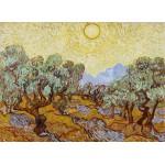 Puzzle  Grafika-Kids-00339 Vincent van Gogh: Olive Trees, 1889