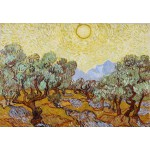 Puzzle  Grafika-Kids-00340 Vincent van Gogh: Olive Trees, 1889