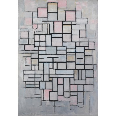 Puzzle Grafika-Kids-00343 Piet Mondrian: Composition No.IV, 1914
