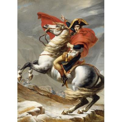 Puzzle Grafika-Kids-00352 Magnetic Pieces - Jacques-Louis David: Napoleon Crossing the Alps