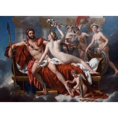 Puzzle Grafika-Kids-00369 Jacques-Louis David: Mars Being Disarmed by Venus, 1824