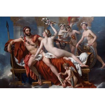 Puzzle Grafika-Kids-00373 XXL Pieces - Jacques-Louis David: Mars Being Disarmed by Venus, 1824