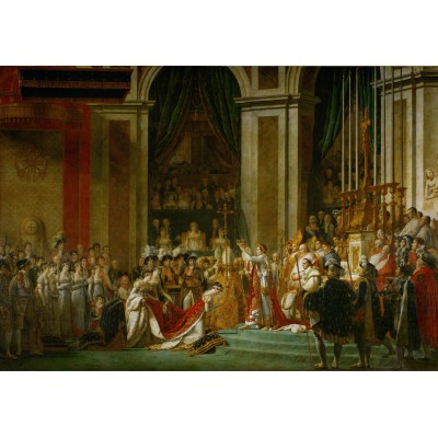 Puzzle Grafika-Kids-00375 Jacques-Louis David: The Coronation of Napoleon, 1805-1807