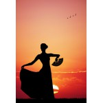Puzzle  Grafika-Kids-00393 XXL Pieces - Flamenco at Sunset