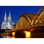 Puzzle  Grafika-Kids-00394 Cathedral and Hohenzollern Bridge - Cologne