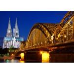 Puzzle  Grafika-Kids-00395 Cathedral and Hohenzollern Bridge - Cologne