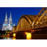 Puzzle  Grafika-Kids-00398 XXL Pieces - Cathedral and Hohenzollern Bridge - Cologne