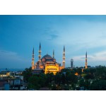 Puzzle  Grafika-Kids-00407 Magnetic Pieces - Blue Mosque, Turkey